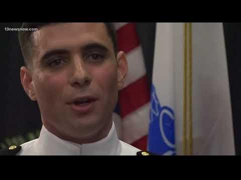 14 EVMS graduates sworn in as officers