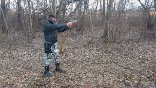 Shooting Beretta F92 9mm (Blow Magnum mod  F92)