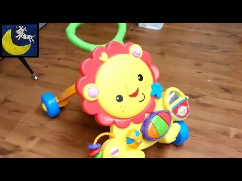 Quick Snippet Review: Fisher Price Musical Lion Walker Push Toy
