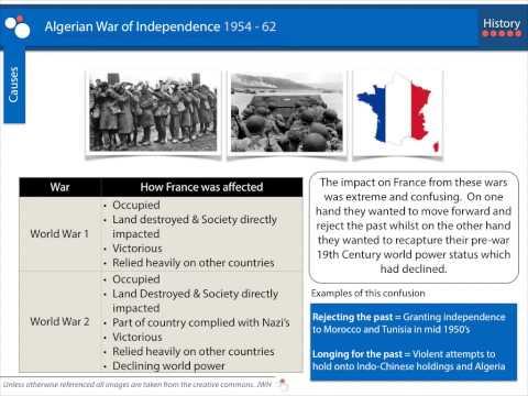 Algerian War of Independence 1954-62