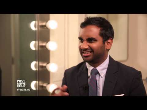 Aziz Ansari Wants To Help You Find A Mate. Seriously.