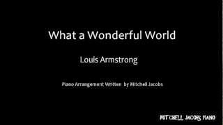 What A Wonderful World - Louis Armstrong - Piano