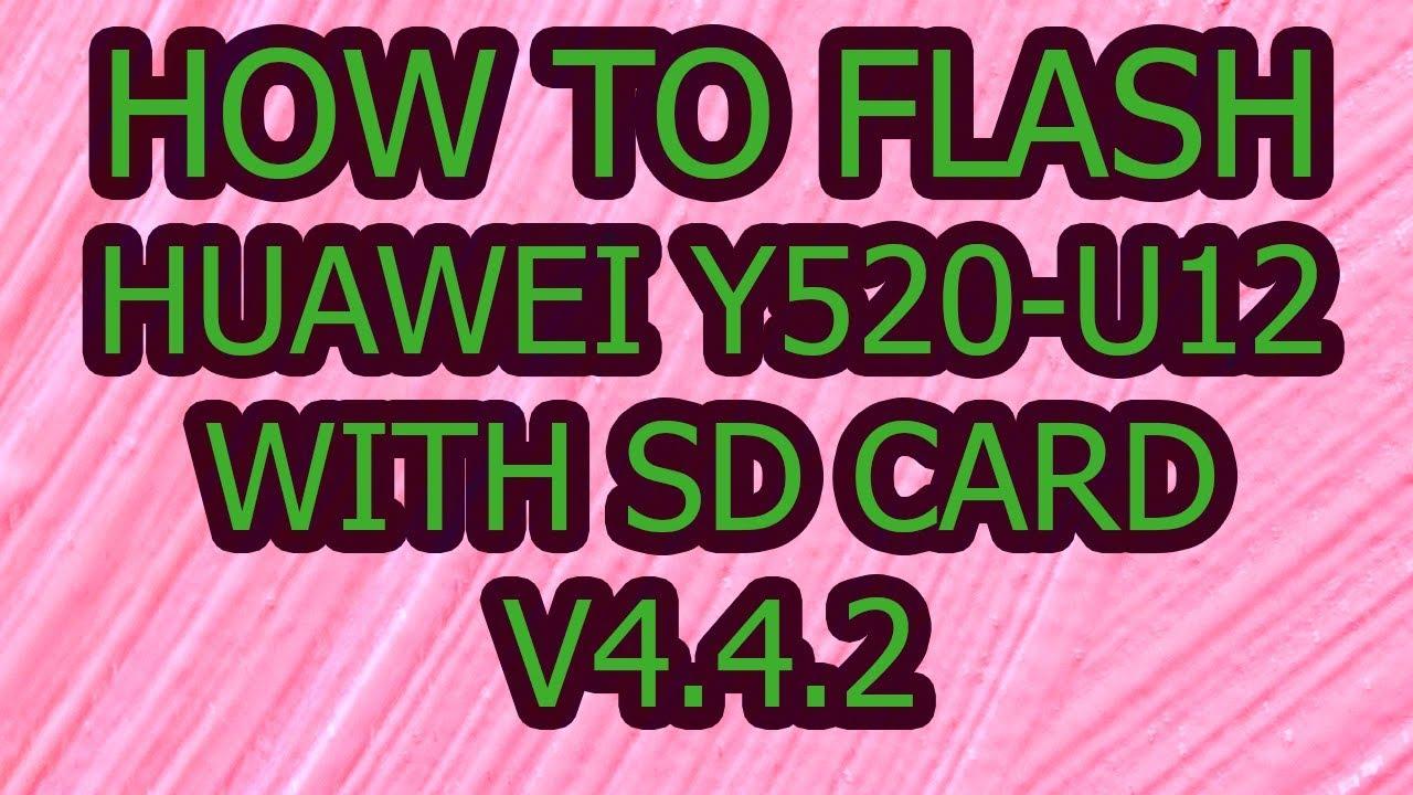 HUAWEI Y520-U12 FIRMWARE TÉLÉCHARGER