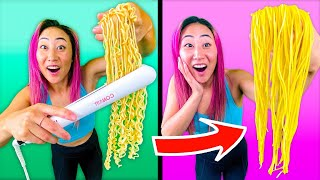 TESTING VIRAL TikTok FOOD HACKS!! **SHOCKING**