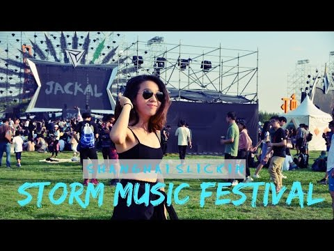 Working At Storm Music Festival | Shanghai Slickin