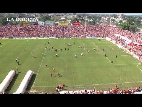 San Martín le ganó 3 a 1 a Concepción FC  - Los goles