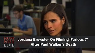 Jordana Brewster On Filming