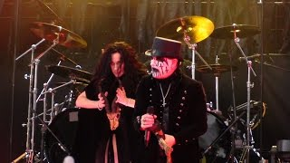 King Diamond - Come to the Sabbath (Mercyful Fate cover) live at Gröna Lund, Stockholm 2014