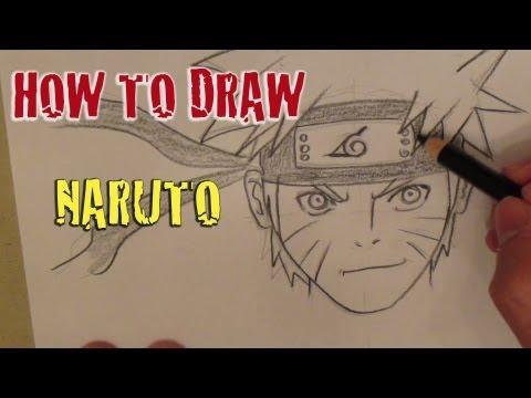 Tutorial: How to draw Naruto うずまき ナルト
