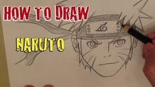 Tutorial: How to draw Naruto うずまき ナルト