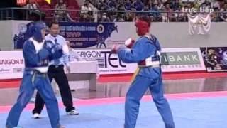 The 1st WVVF World Vovinam Championship 2009 -- Fighting 57-60 kg -- Thailand vs Vietnam