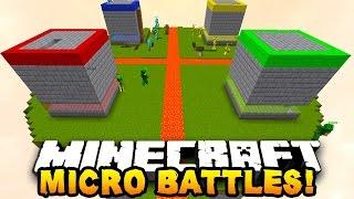 Minecraft Micro Battle /w Gitaristv /w Anka Leydi