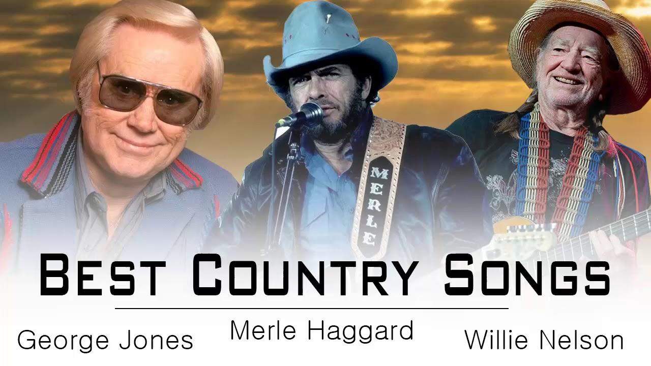 George Jones Merle Haggard Willie Nelson Greatest Hits