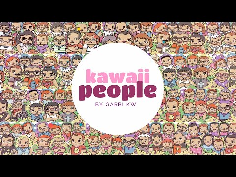 kAWAII pEOPLE - How To Draw Kawaii - Kawaii Doodles by Garbi KW