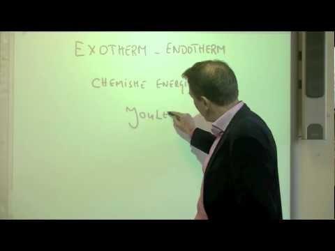 33 Exotherm en endotherm - scheikunde
