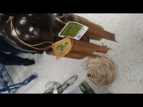 How a wooden wind chime sounds like