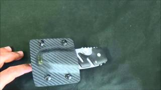 CRKT Folding Knife - Horizontal Carry