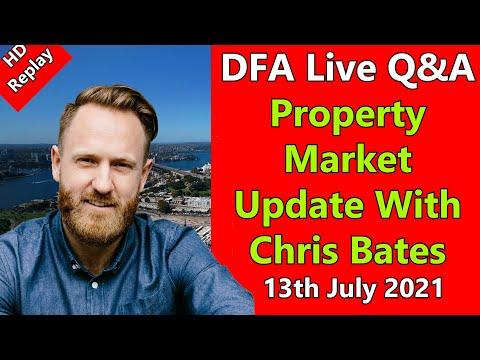 DFA Live Qu0026A: HD Replay Property Market Update With Chris Bates