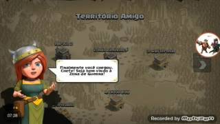 (Clash of clans) Começando uma nova vila #3 ft:Kay