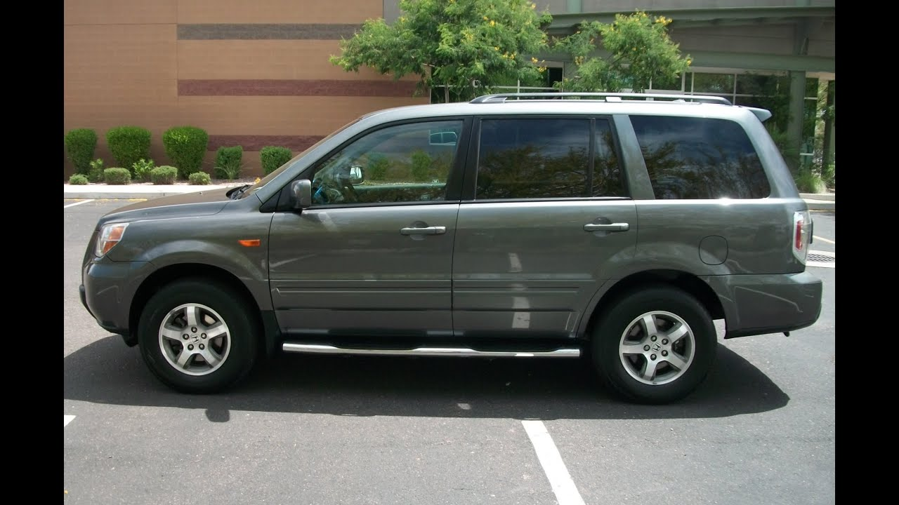 Priced Right Auto Sales >> 2007 Honda Pilot EX-L Leather Rear DVD 3rd Seat PR1205 - YouTube