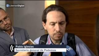 Pablo Iglesias llama machista a una periodista que le pregunta por Tania Sánchez