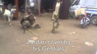 Asif Zardari Dancing Naked !!!