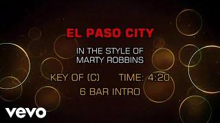 Marty Robbins - El Paso City (Karaoke)