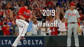 Atlanta Braves Walkoffs - 2019