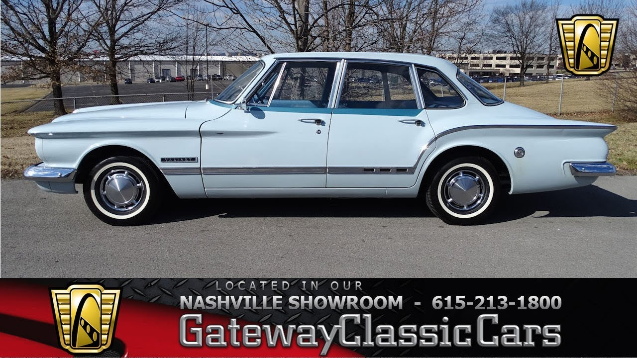 1962 Plymouth Valiant, Gateway Classic Cars Nashville#721
