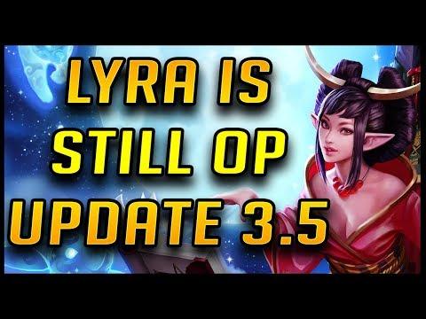 Lyra Is Still REALLY GOOD | Update 3.5 Vainglory High Elo Gamplay