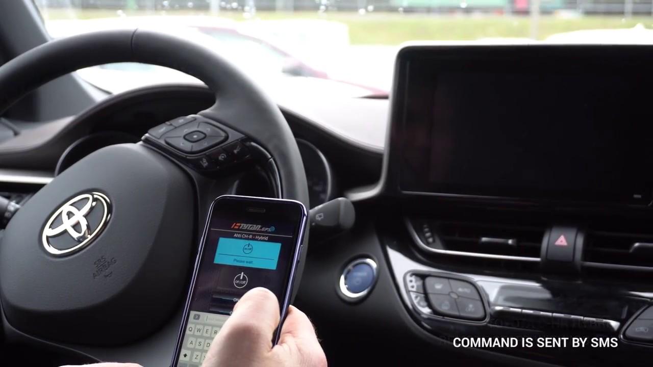 Toyota C Hr Remote Start Youtube