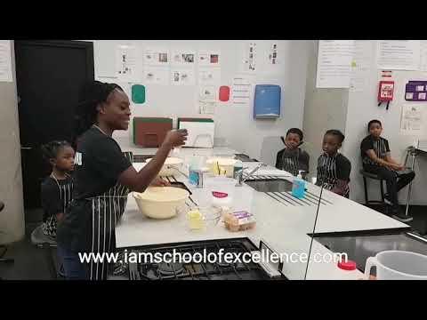 Preparing Ghana Cake 13.01.18