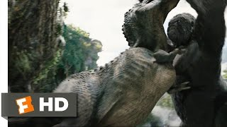 King Kong (4/10) Movie CLIP - Kong Rescues Ann (2005) HD