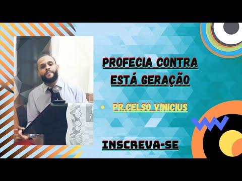 OLHA OQUE DEUS VAI FAZER COM ESSA GERAÇÃO -Pr.Celso Vinicius