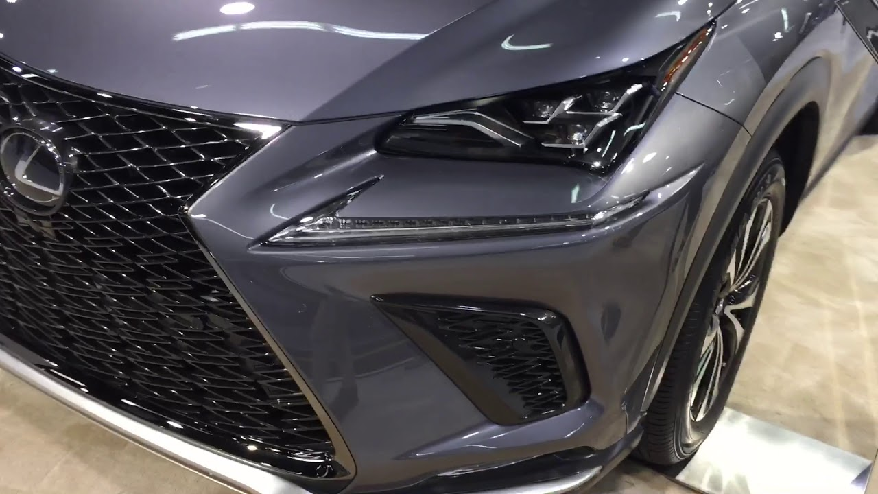Orange County Auto Show >> 2018 Lexus NX300 F-Sport 01 - YouTube