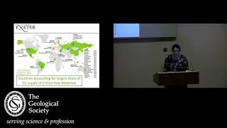 Public Lecture_The role of the geologist in securing supplies of critical raw materials_April 2018 thumbnail