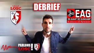 Video Gol Pertandingan LOSC Lille Metropole vs Guingamp