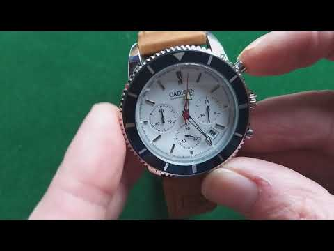 Cadisen C9067 Chronograph Hand-on and review