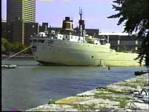 Great Lakes ships & tug-barges Welland Canal & Buffalo, NY