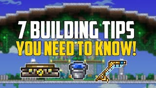 7 Building Tips & Tricks You Need to Know in Terraria | Let's Build | PC | Console | Mobile