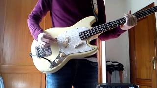 I Feel It In My Heart - Talking Heads (Bass cover)