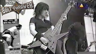 """Bolt Thrower - Zwickau 04.07.1997 """"With Full Force""""-Festival (TV) Live & Interview"""
