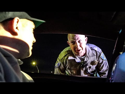 CALIFORNIA STATE POLICE CONFRONTS LAMBORGHINI OWNER!