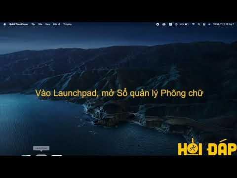 Cách cài đặt font chữ cho MacBook siêu đơn giản, nhanh chóng - Thegioididong.com