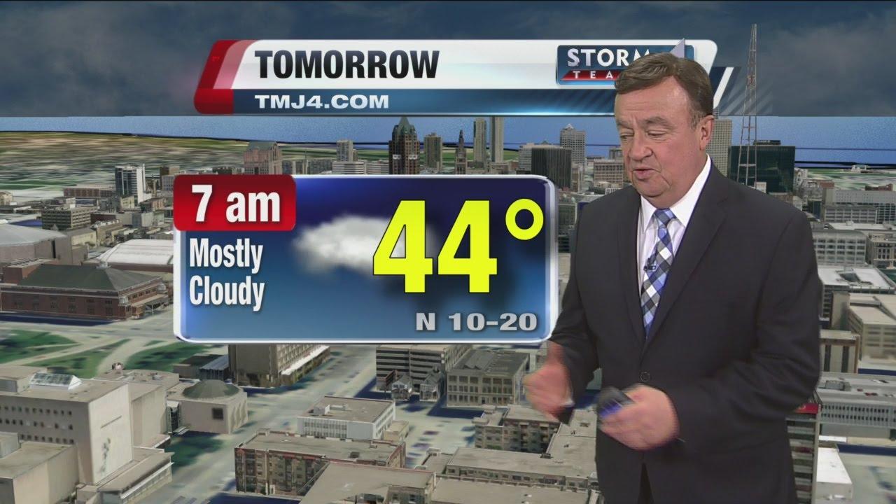 Storm Team 4 10 p m  Weather Update with John Malan