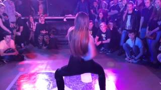 VOGUE FEMME Karina Ninja judge performance at Duel 3 battle in Krasnodar city (Russia)