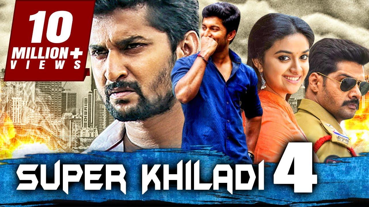 Download सुपर खिलाडी 4 - साउथ इंडियन हिंदी डब्ड फुल मूवी।  Super Khiladi 4 (Nenu Local)। नानी, कीर्ति सुरेश