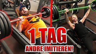 1 TAG lang ANDRE IMITIEREN!