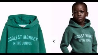 Race War | H&M's 'coolest monkey in the jungle' hoodie on young black boy