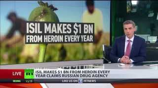 Disrupted oil routes push ISIS towards heroin trade, already 1 $bn a year